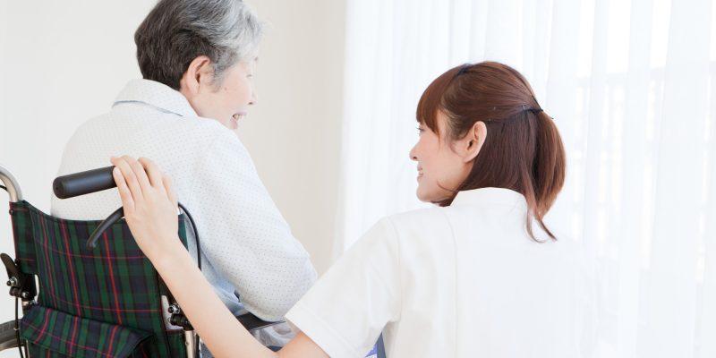 老人介護施設での看護師バイト
